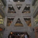 The X motif re-interpreted in the new building