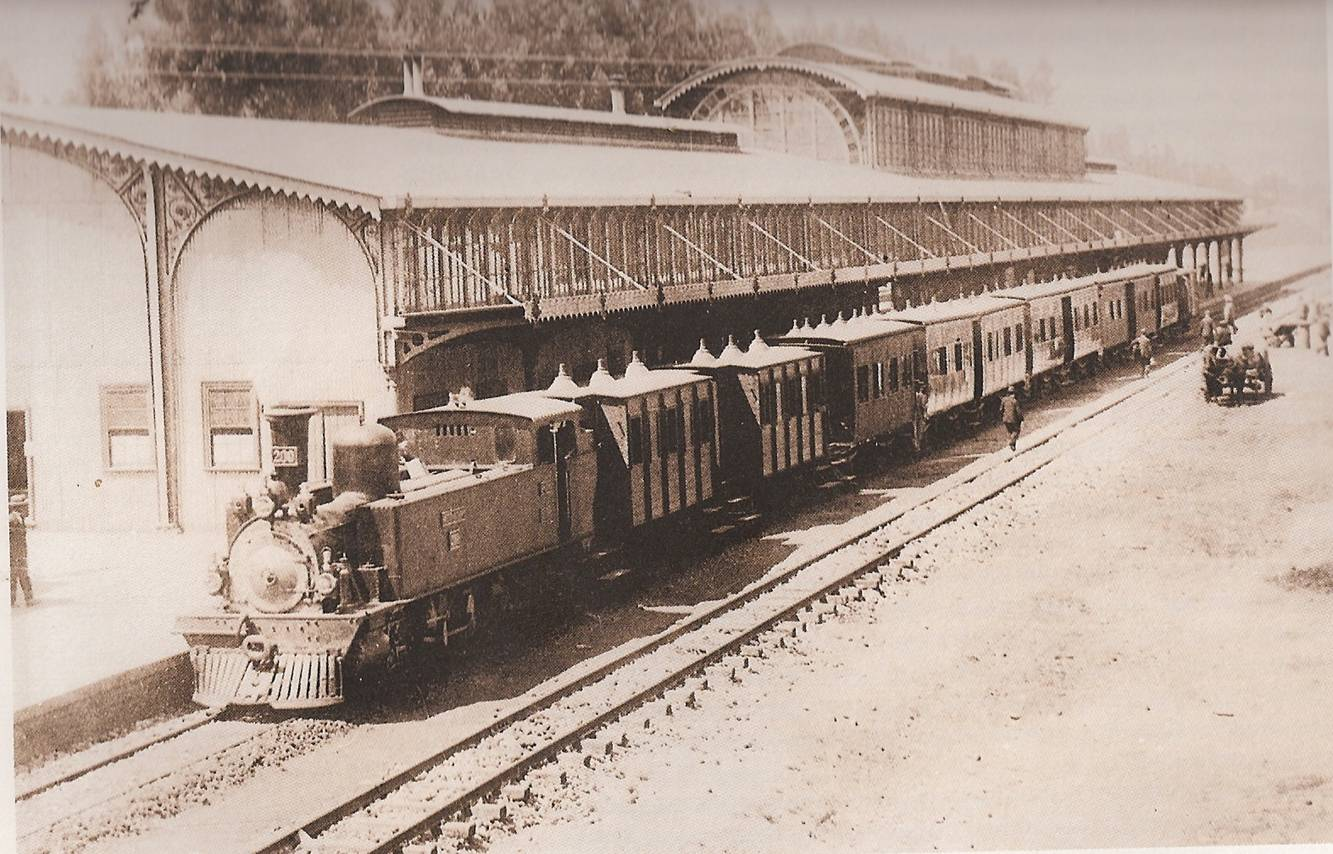 Park Station in The Late 19th