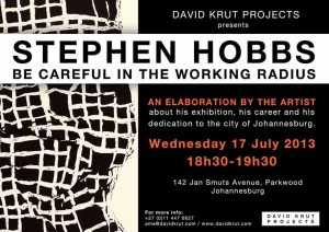 STEPHEN HOBBS Artist Talk small
