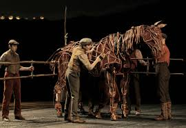 War horse puppets created by South Africa's Handspring Puppet Company